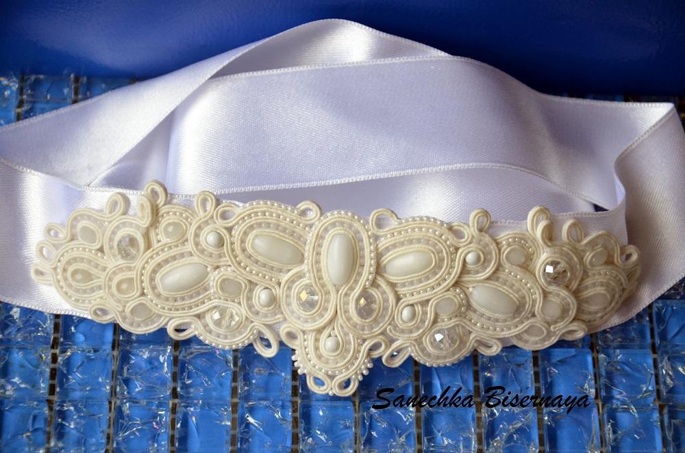 Платье с сутажной вышивкой 73