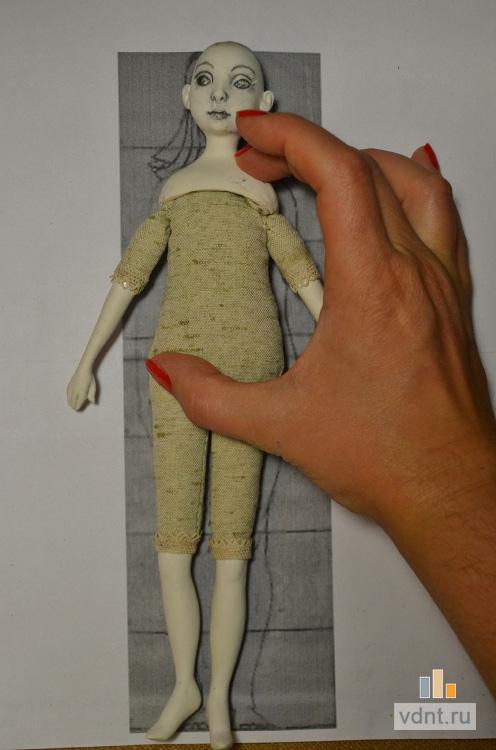 Фото лепка куклы своими руками