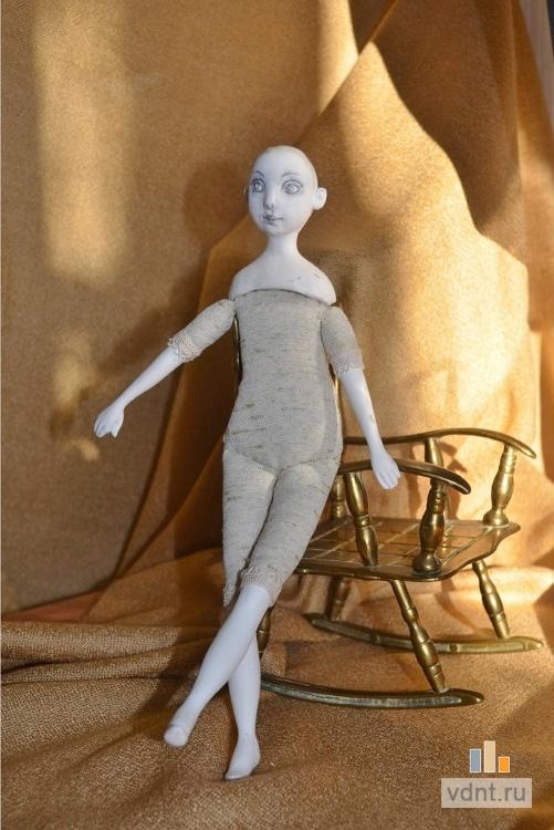 Авторская кукла из полимерной глины мастер класс видео
