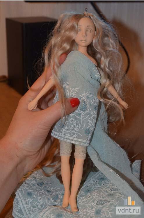 Как сделать самой авторские куклы