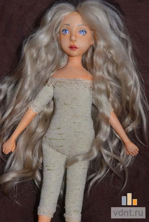 Прически авторским куклам