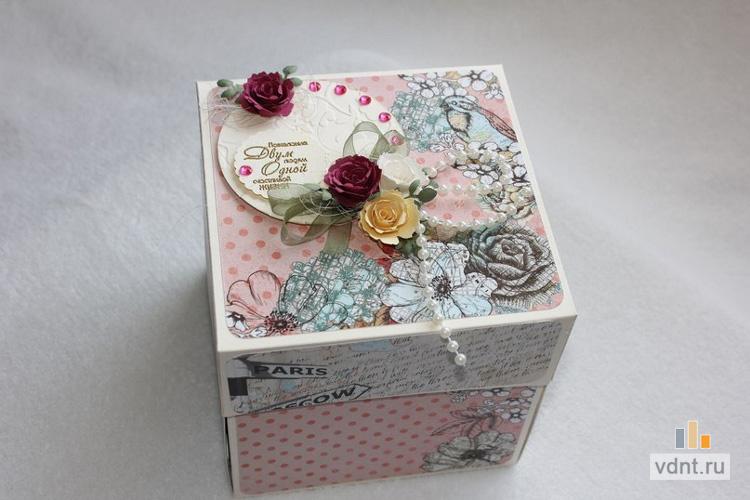 Коробка для скрапбукинга своими руками 30