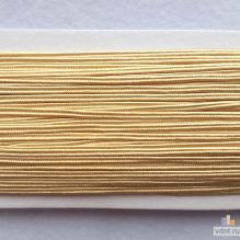 Сутаж атласный светлое золото (36)