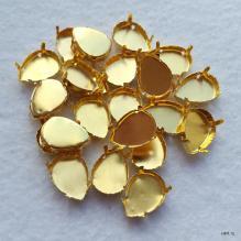 Цапы для страз-капель под золото (оправа, сеттинги)