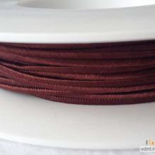 Сутаж чешский красно-коричневый (28)