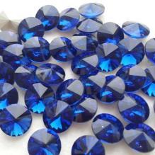 Стразы риволи 16 мм синие (2)