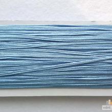 Сутаж атласный голубой (40)