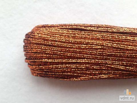Турецкий сутаж металлик медный (47)