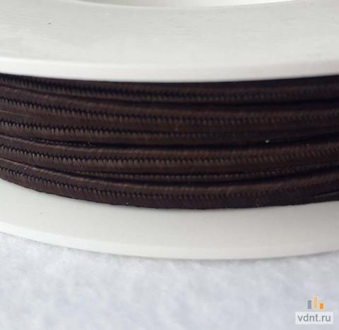 Сутаж чешский темно-коричневый (30)