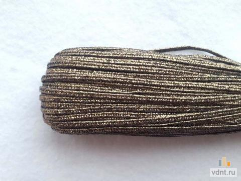 Турецкий сутаж металлик античное серебро (49)
