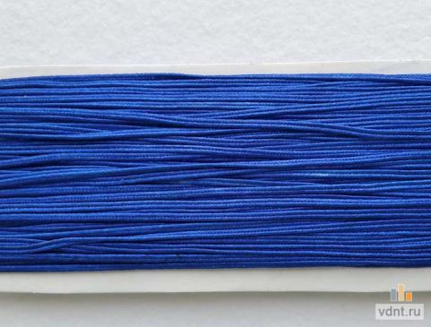 Сутаж атласный синий (41)