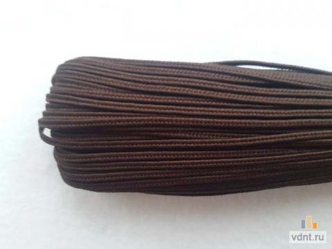 Турецкий сутаж темно-коричневый (53)