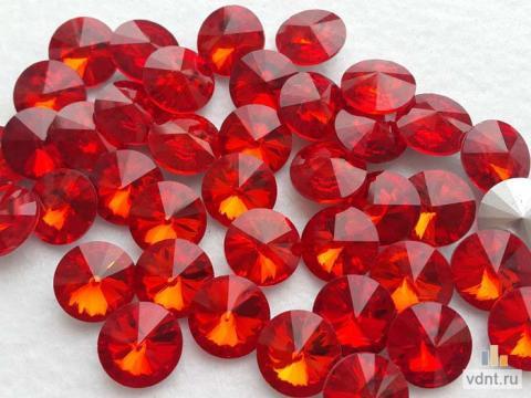 Стразы риволи 16 мм красные (5)