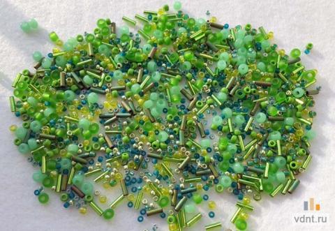 Японский бисер toho mix 3221 травяной